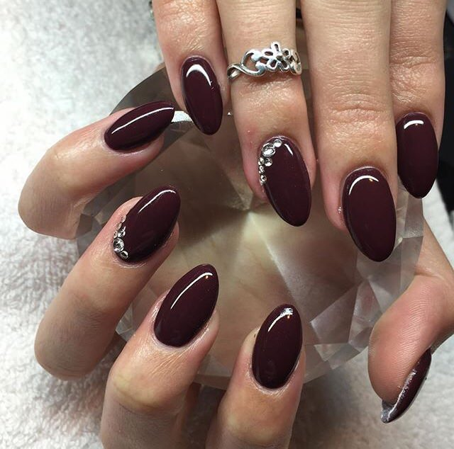 - 50 Amazing Burgundy Nails You Definately Have To Try