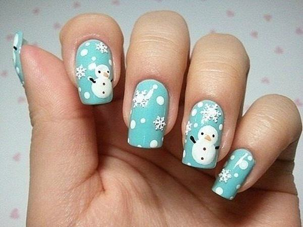 77 magical photos of festive christmas nails you will love