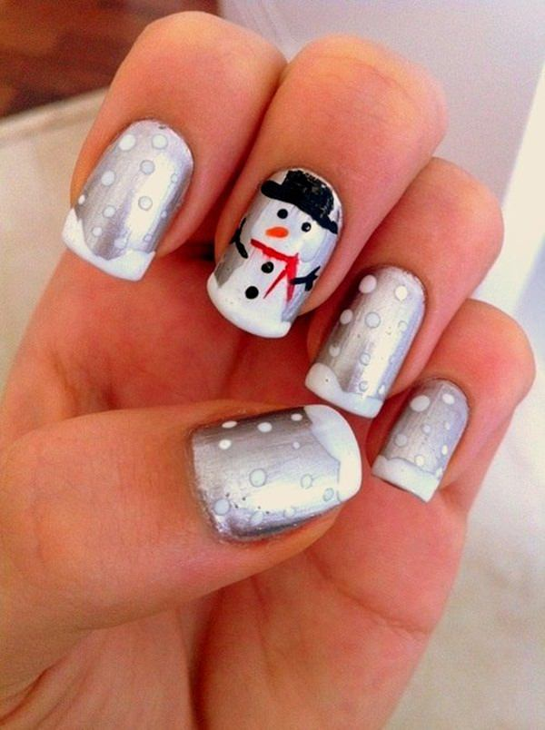 77 magical photos of festive christmas nails you will love christmas nail art 58 prinsesfo Image collections