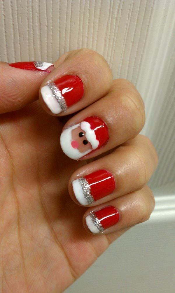 77 magical photos of festive christmas nails you will love christmas nail art 59 prinsesfo Images
