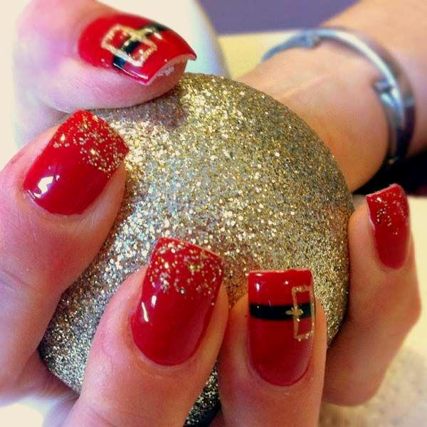 christmas-nail-art-65 - 77 Magical Photos Of Festive Christmas Nails (You Will LOVE)
