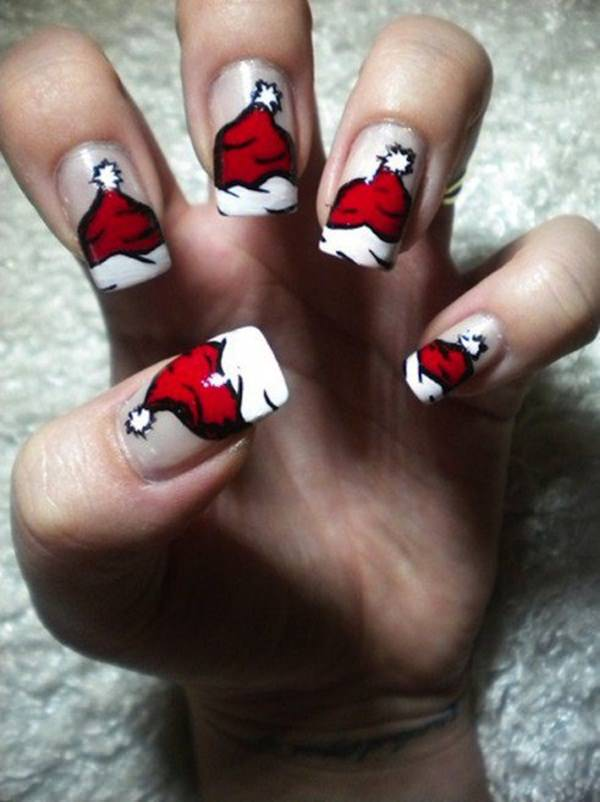 77 Magical Photos of Festive Christmas Nails (You Will LOVE)
