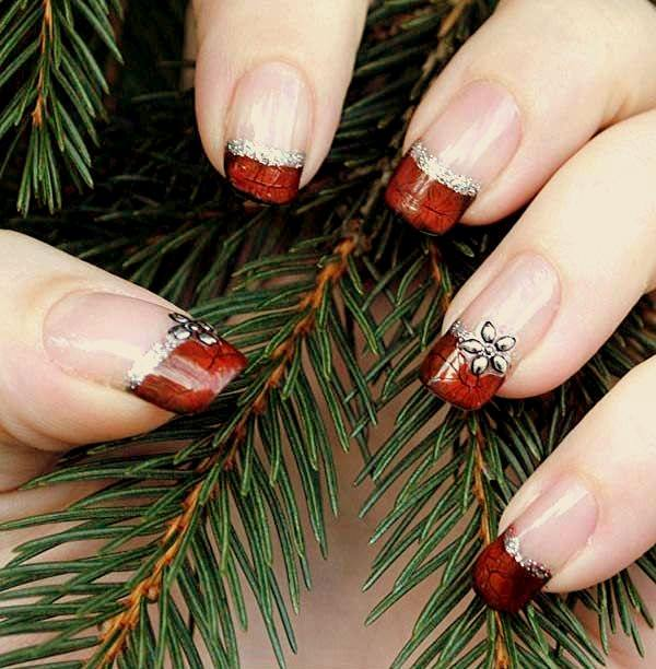 77 magical photos of festive christmas nails you will love christmas nail art 73 prinsesfo Gallery