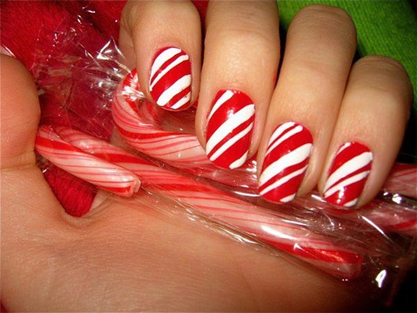 77 magical photos of festive christmas nails you will love christmas nail art 74 prinsesfo Images