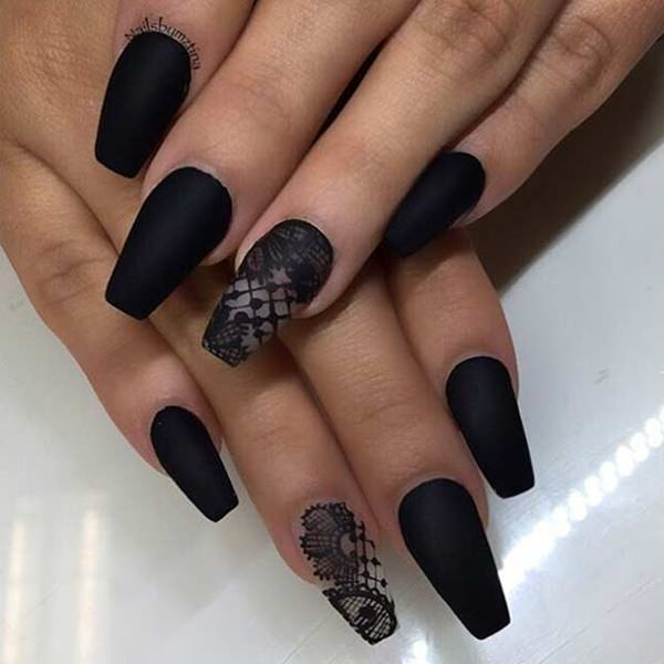 69 Impressive Coffin Nails You Always Wanted to Sport
