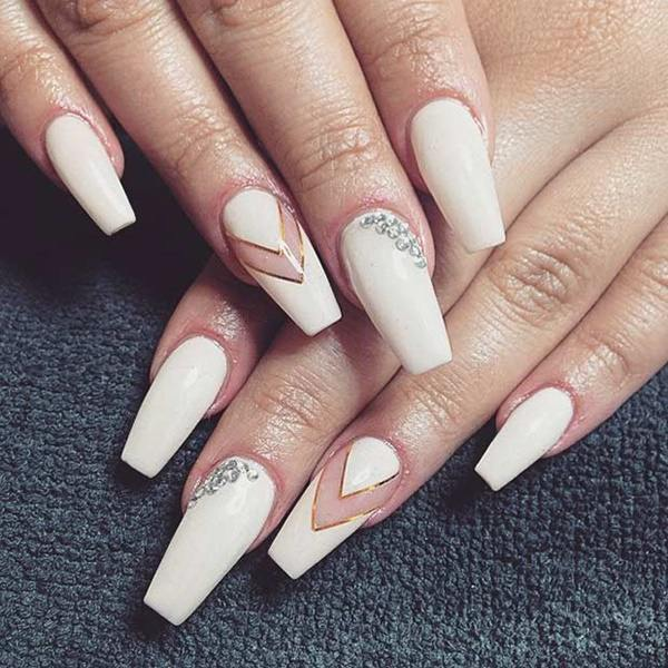 69 impressive coffin nails you always wanted to sport 25250716 coffin nails prinsesfo Gallery