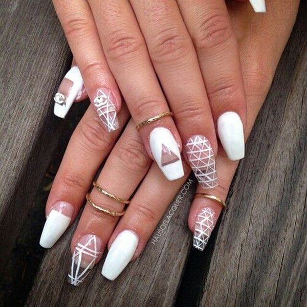 69 impressive coffin nails you always wanted to sport 38250716 coffin nails prinsesfo Gallery