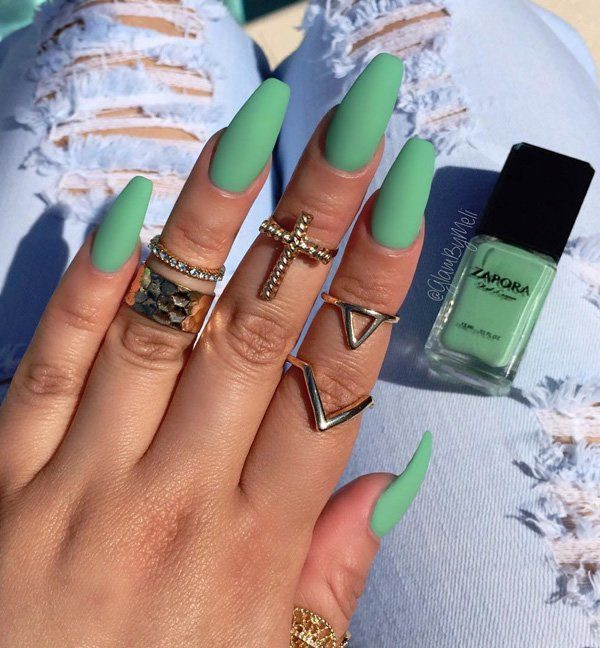 69 impressive coffin nails you always wanted to sport 60250716 coffin nails prinsesfo Images