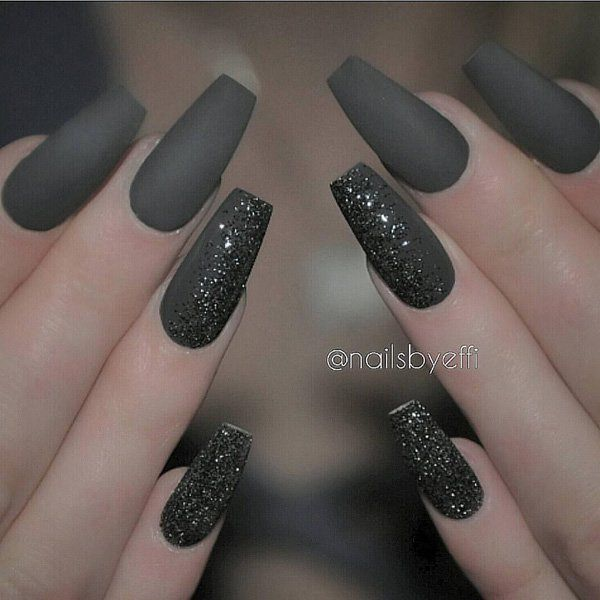 69 impressive coffin nails you always wanted to sport canonic black prinsesfo Image collections