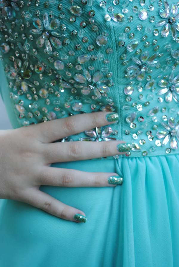 81 eye catching prom nails for your special day prom nails 02071620 prinsesfo Gallery