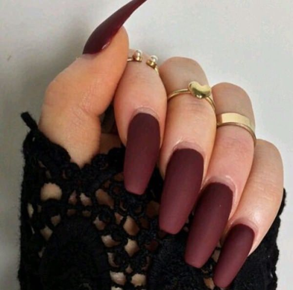 Brown Nails With Fall Background further Mahogany Deep Frame Warehouse ...