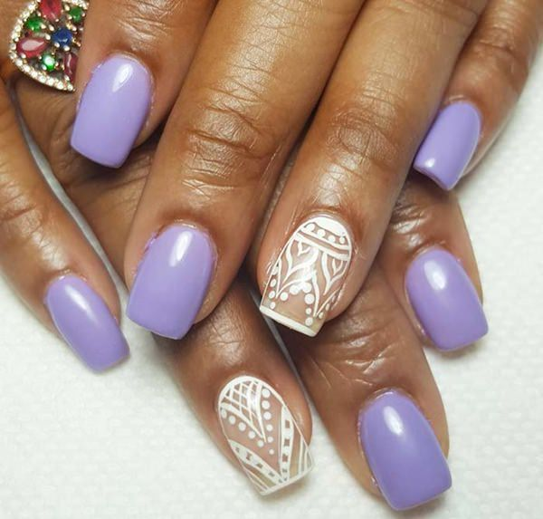 66 amazing acrylic nail designs that are totally in season right now 61050916 acrylic nails designs prinsesfo Choice Image